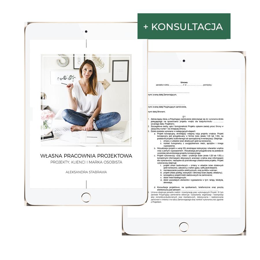 E-book: Własna Pracownia Projektowa + Umowa + Konsultacja